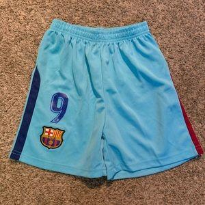 Kids BARCELONA soccer shorts ⚽️
